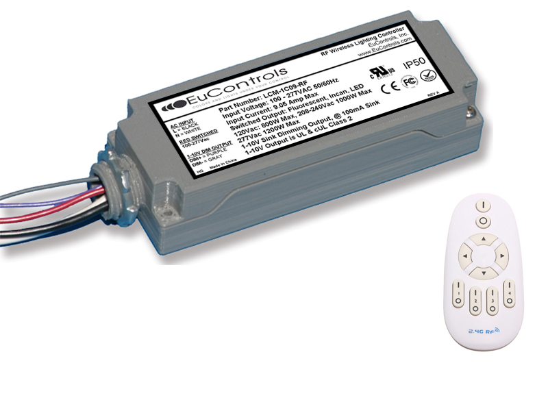 RF Wireless Dimming Controller LCM-1C09-RF