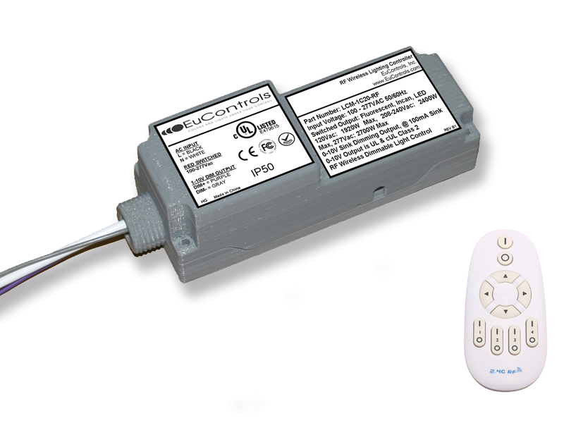 RF Wireless Dimming Controller LCM-1C20-RF